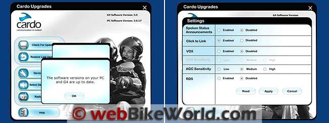 cardo scala rider g4 software download