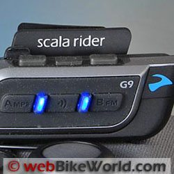 Cardo Scala Rider G9 Product of the Year