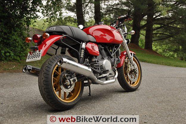 Carrozzeria Wheels - Ducati GT1000 Rear View