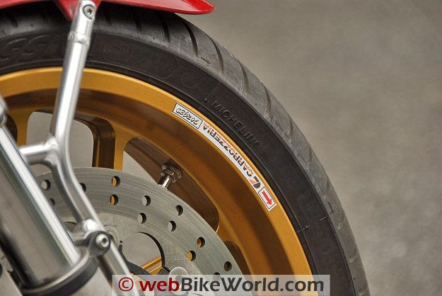 Carrozzeria Wheel close-up