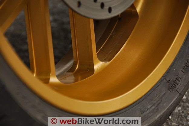 Carrozzeria Rear Wheel close-up