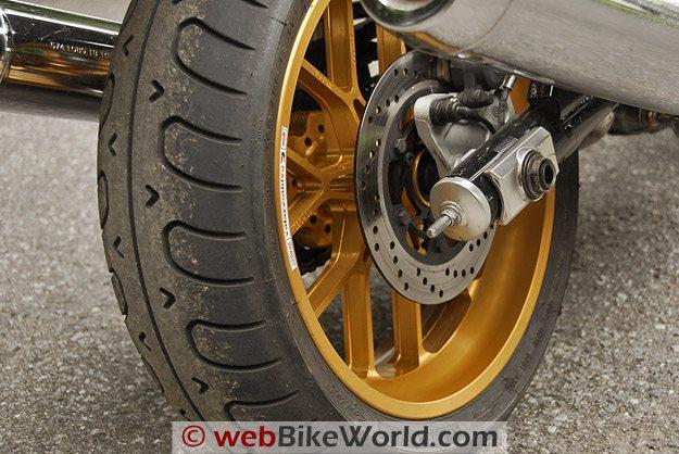 Carrozzeria Rear Wheel