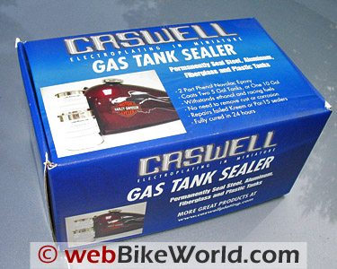 Caswell Fuel Tank Sealer Kit Web Bike World