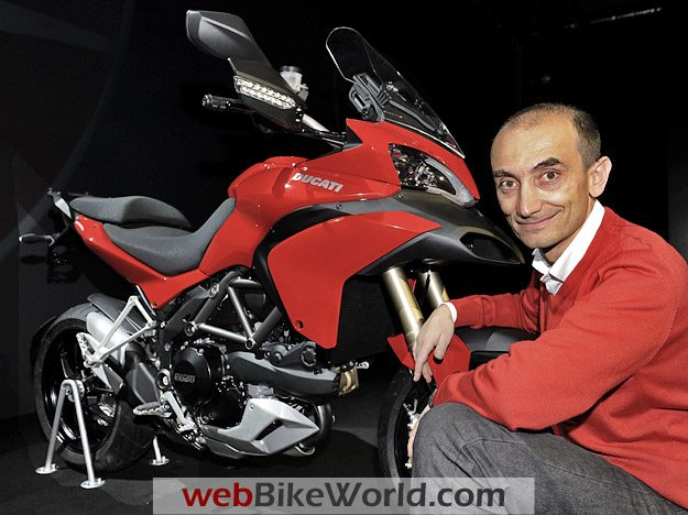 Claudio Domenicali, CEO of Ducati Corse