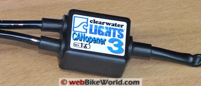 Clearwater CANopener Control Module