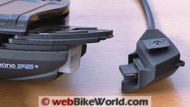 Close-up of Connector Port