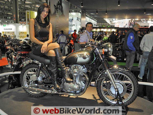 2011 Kawasaki W800 Webbikeworld