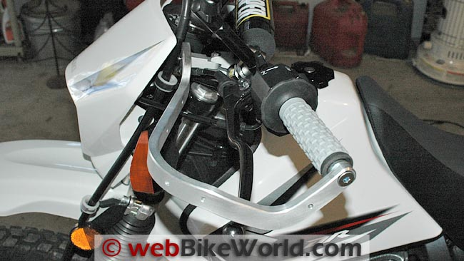 Cycra Hand Guards Side View