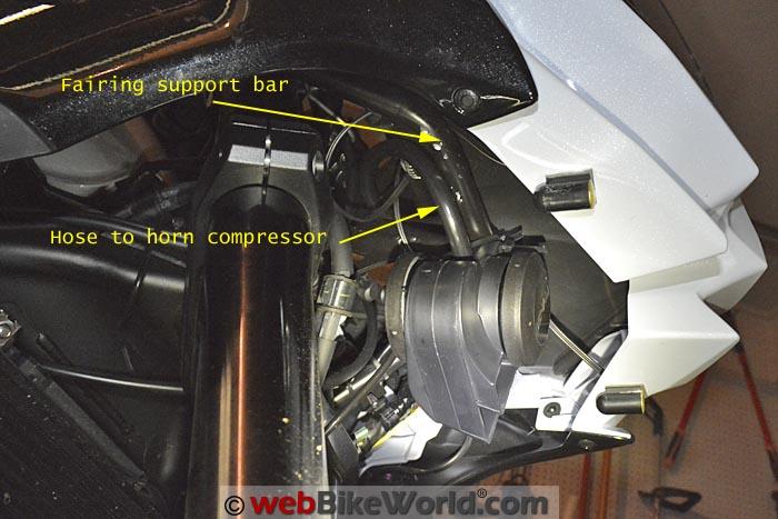Denali Soundbomb Split Horn Trumpet Mounting