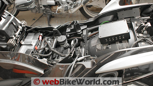 Dispatch 1 System Mounted in BMW R 1200 RT