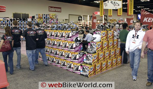 THH Helmets Booth