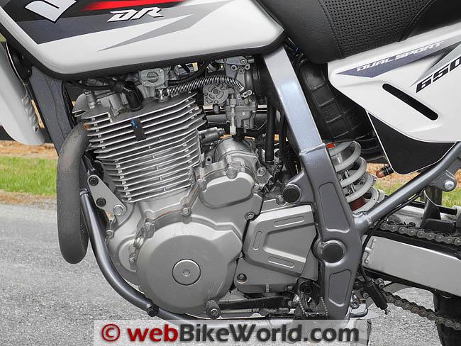 DR650 Engine