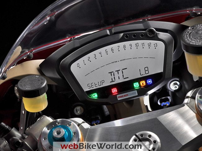Ducati 1198 S - Instruments