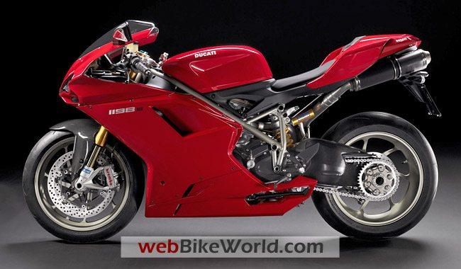 Ducati 1198 S - Left Side