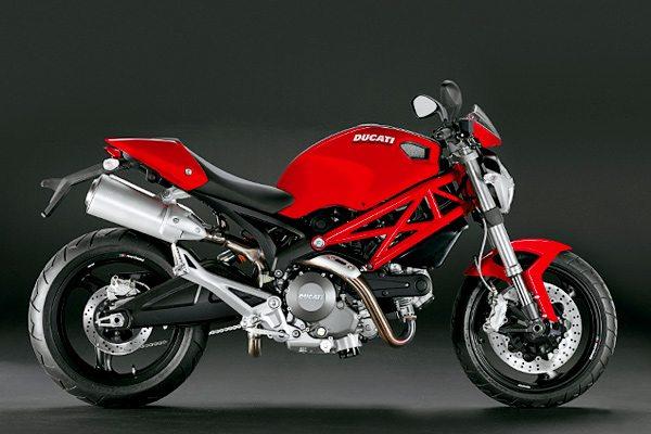 Ducati 696+ in Red