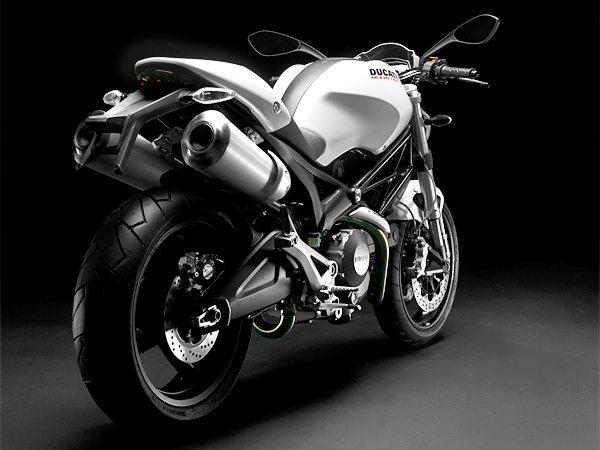Ducati 696+ in White
