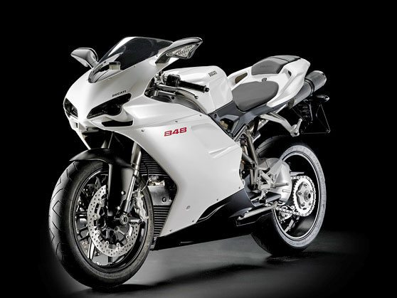 Ducati 848 - Left Side