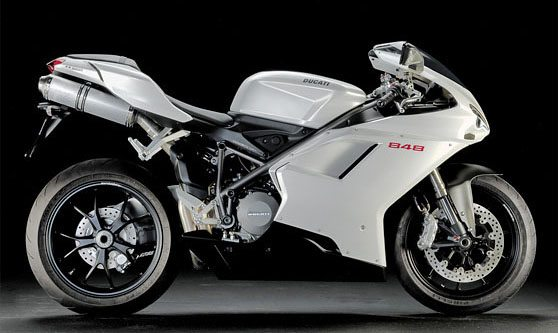 Ducati 848 - Right Side