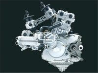 Ducati 999 Testastretta engine