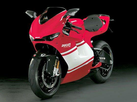 Ducati Desmosedici RR - Front View