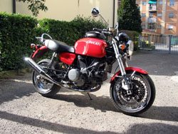 Ducati GT1000 With Luggage Rack