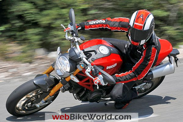 Ducati Monster 1100 - Red