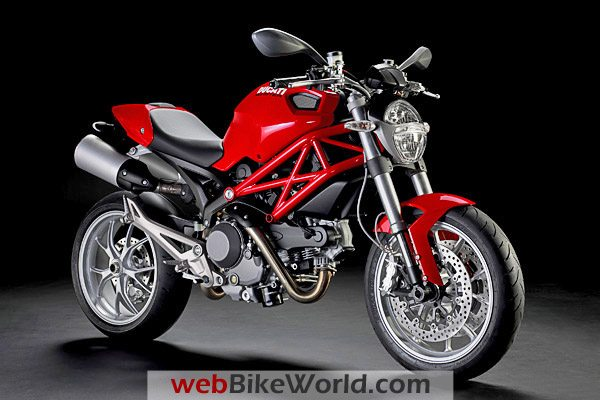 Ducati Monster 1100 in Red