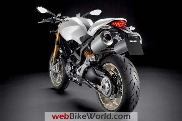 Ducati Monster 1100 - White