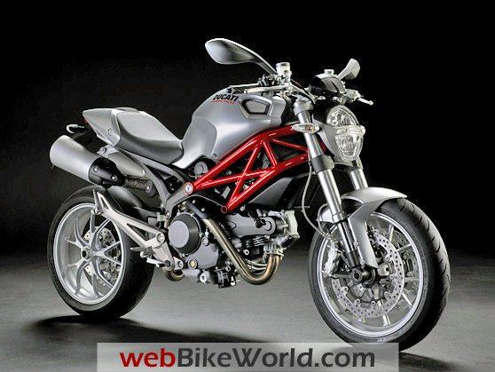 Ducati Monster 1100 - Silver