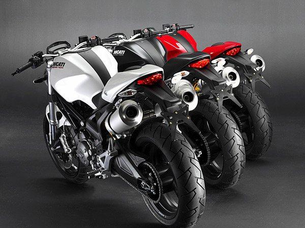 Ducati Monster 696 Colors