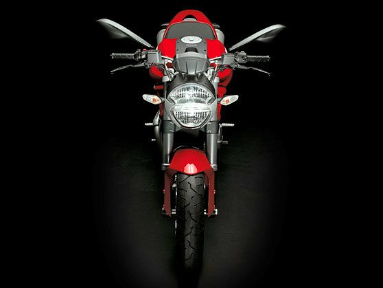 Ducati Monster 696 - Front View