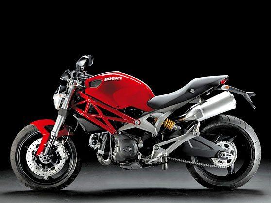 Ducati Monster 696 - Left Side