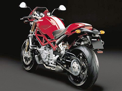 Ducati Monster S4Rs - Rear View