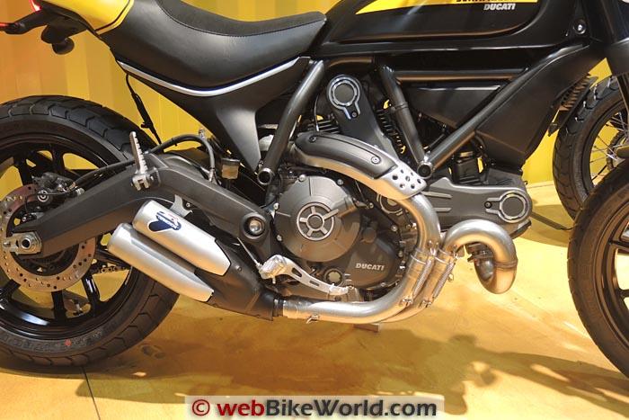 Ducati Scrambler Full Throttle Engine