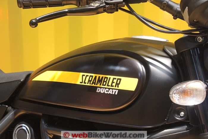Ducati Scrambler Full Throttle Fuel Tank
