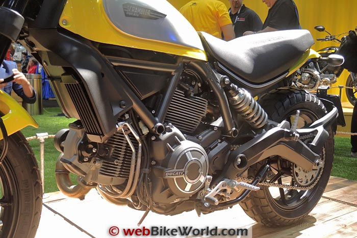 Ducati Scrambler Icon Engine