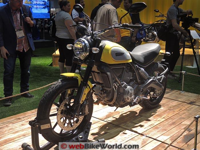 Ducati Scrambler Icon Front View