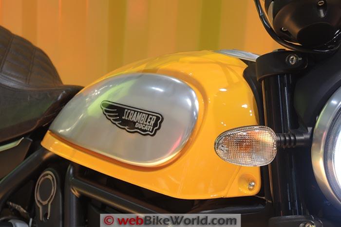 Ducati Scrambler Icon Fuel Tank