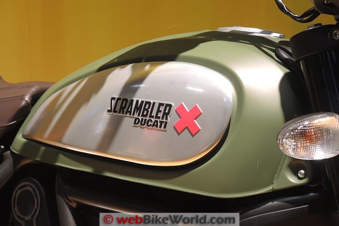 Ducati Scrambler Urban Enduro Fuel Tank
