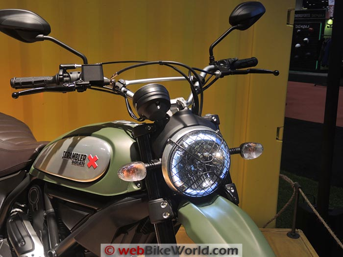 Ducati Scrambler Urban Enduro Headlight