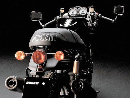 Ducati Sport 1000 Biposto - Rear View
