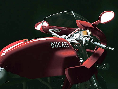Ducati Sport 1000 S - Instruments and Fuel Tank