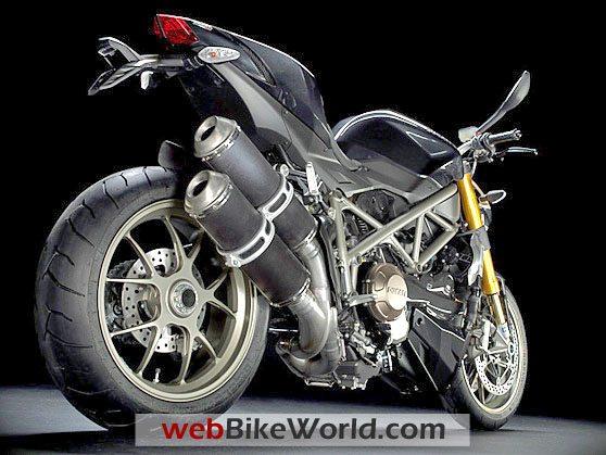 Ducati Streetfighter - Rear