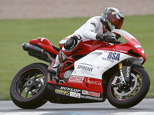 Nina Prinz. Ducati Women's Motorcycle Racing Team