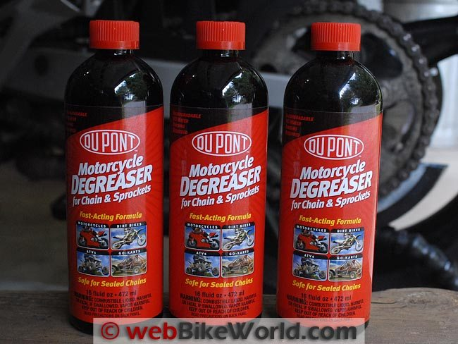 DuPont Motorcycle Degreaser