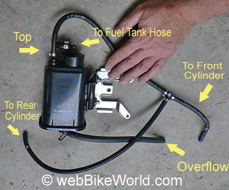 Ducati Evaporative Emissions System Parts