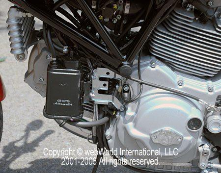 Ducati GT1000 Evaporative Emissions System