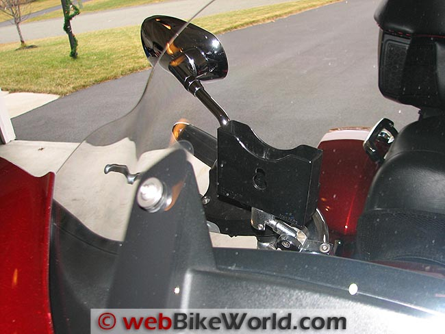 Motorcycle EZ Pass Toll Holders - webBikeWorld