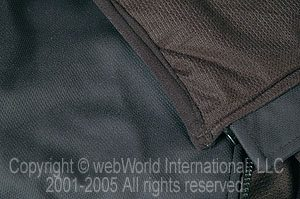 Heated vest outer and inner fabric