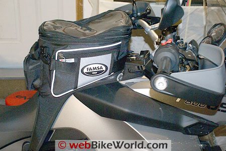 BMW F 800 GS - FAMSA Tank Bag